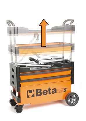 Picture of BETA gereedschapswagen C27S PROMO