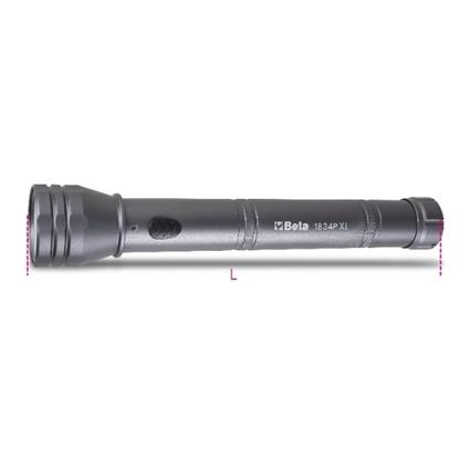 Afbeeldingen van BETA LED zaklamp 1834P XL - 1350 lumen PROMO