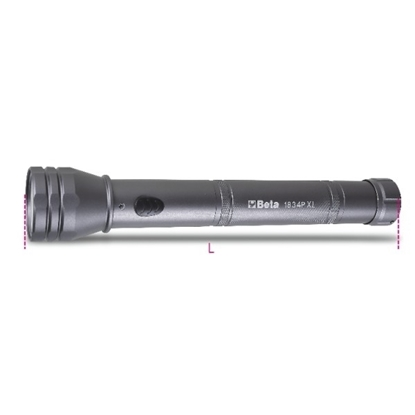 Picture of BETA LED zaklamp 1834P XL - 1350 lumen PROMO