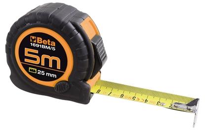 Afbeeldingen van BETA Rolmeter ABS behuizing 1691/BM - 10 M PROMO