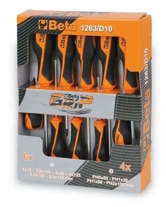 Afbeeldingen van BETA schroevendraaier set 1263/D10 PROMO