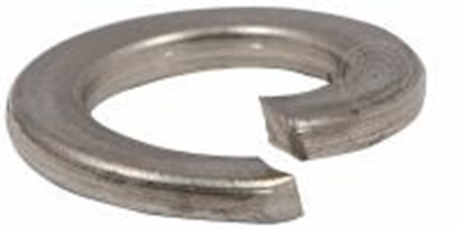 Afbeeldingen van Veerring vlak eind DIN127-B staal M22